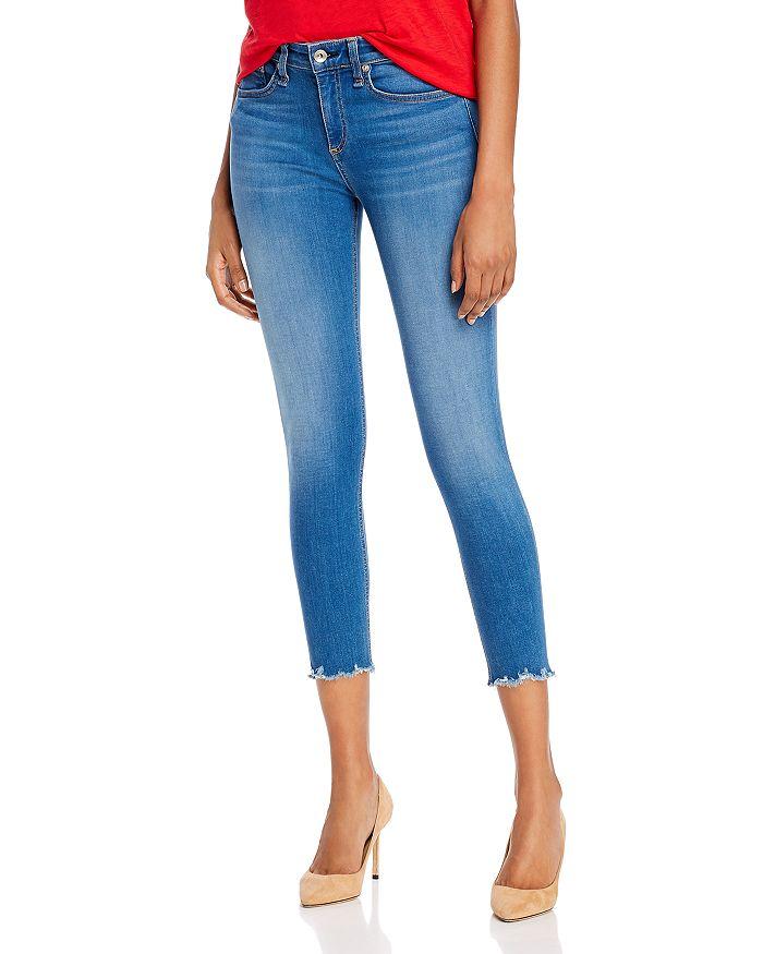 rag & bone - Nina High-Rise Ankle Skinny Jeans in Flint