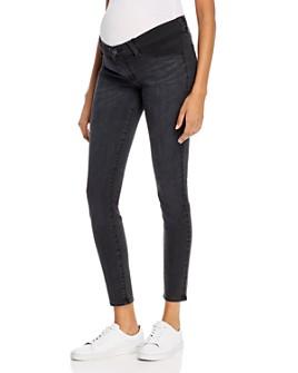 J Brand - Mama J Mid-Rise Super Skinny Maternity Jeans in Vane