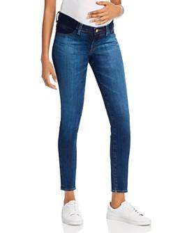 J Brand - Mama J Mid-Rise Maternity Skinny Jeans in Arcade