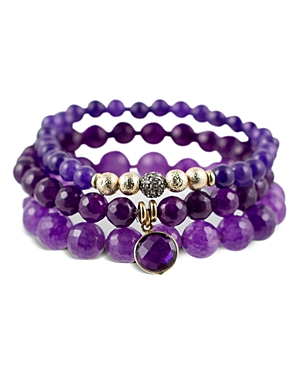 Sequin Color Karma Stretch Bracelet