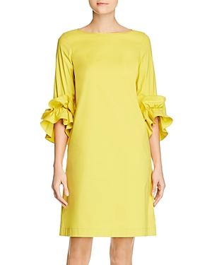 Lafayette 148 New York Whitby Ruffle-Sleeve Shift Dress-Women