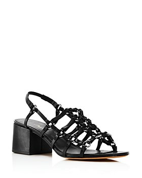 3.1 Phillip Lim - Women's Cube Strappy Caged Sandals