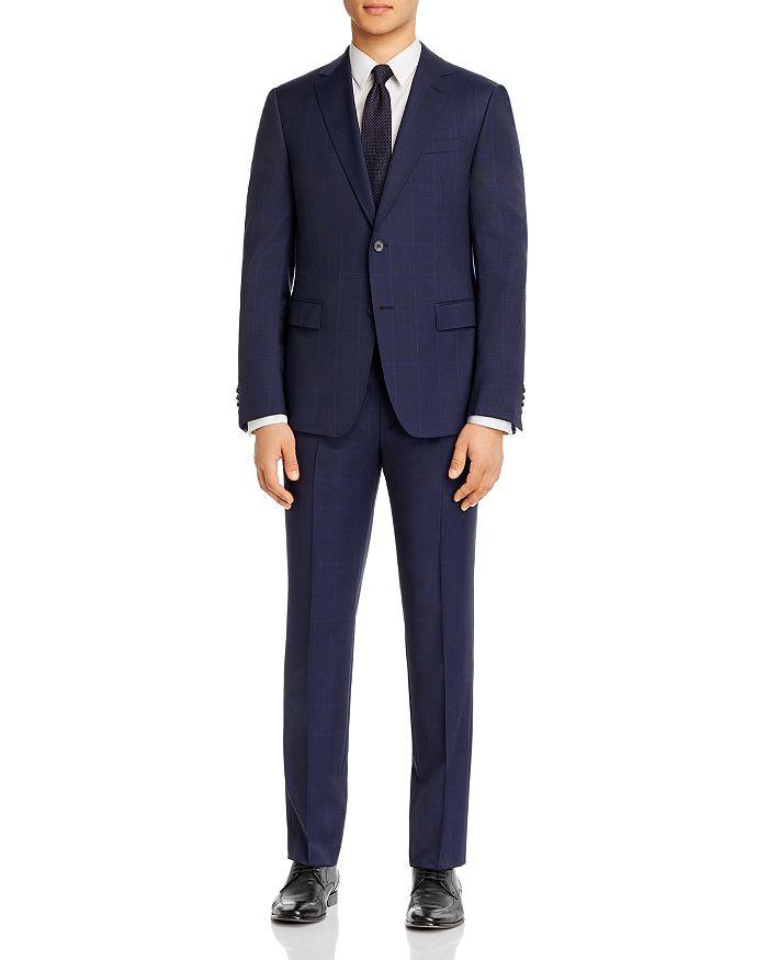 Z Zegna - Drop 8 Tonal Prince of Wales Plaid Slim Fit Suit