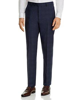 John Varvatos Star USA - Street Tonal-Plaid Slim Fit Suit Pants