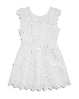 BCBG GIRLS - Girls' Cotton Eyelet Tassel Dress - Little Kid