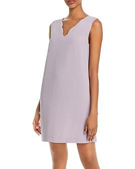 AQUA - Sleeveless Bow-Back Mini Dress