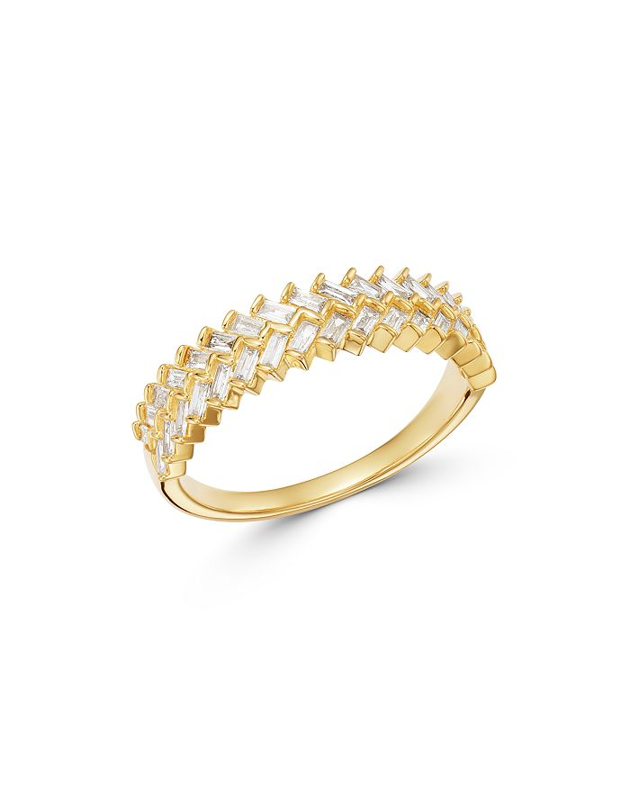 Bloomingdale's - Diamond Baguette Band in 14K Yellow Gold - 100% Exclusive