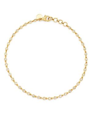 Bloomingdale's Diamond Bezel-Set Link Bracelet in 14K Yellow Gold - 100% Exclusive