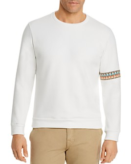 COTE A COAST - Sleeve-Trim Sweatshirt