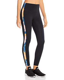 Splits59 - Clare Print-Trimmed Leggings