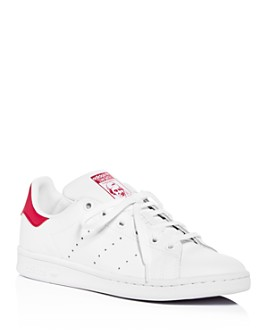Adidas - Unisex Stan Smith Lace Up Sneakers - Big Kid