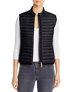 Save The Duck Zip-Up Puffer Vest-Women