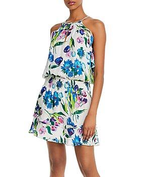 Parker - Williame Printed Halter Dress