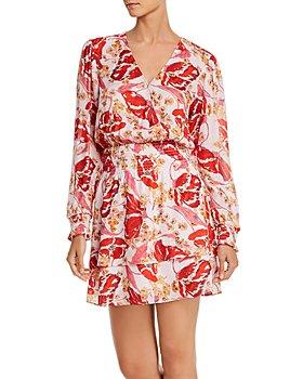 Parker - Athens Silk Printed Mini Dress