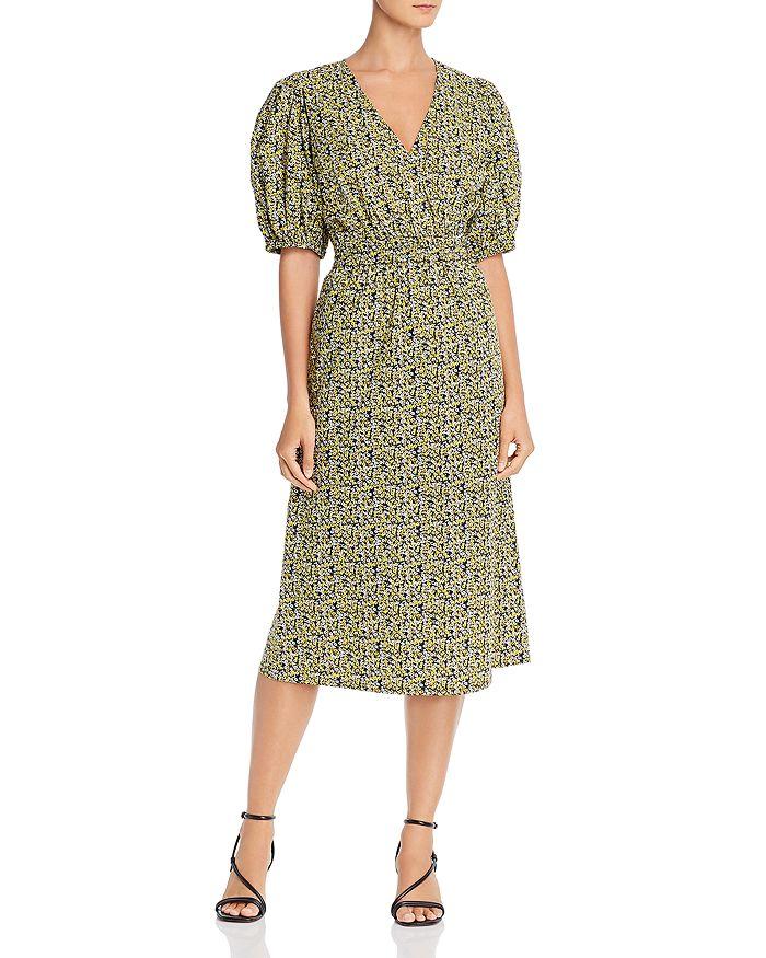 Just female - Dove Floral-Print Midi Dress