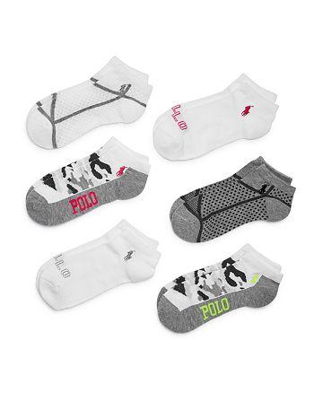 Ralph Lauren - Cushioned Low-Cut Athletic Socks, Pack of 6