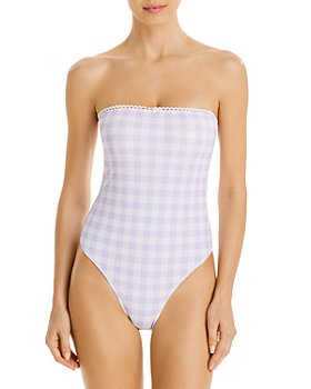 Charlie Holiday - Sienna Gingham One-Piece Swimsuit