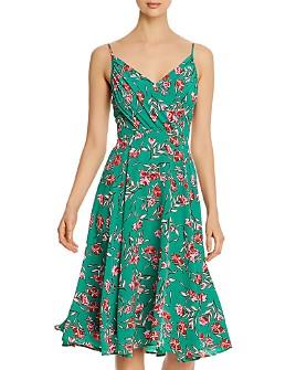 Yumi Kim - Vienna Silk Floral Print A-Line Dress