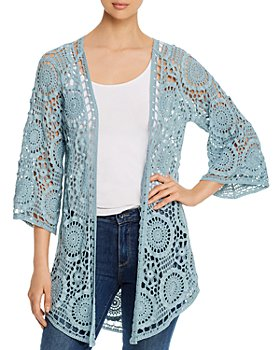 XCVI - Sigvian Cotton Crocheted Cover-Up