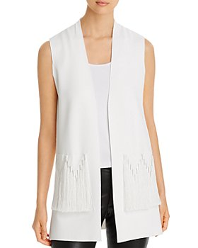 Kobi Halperin - Amrita Open-Front Sweater Vest