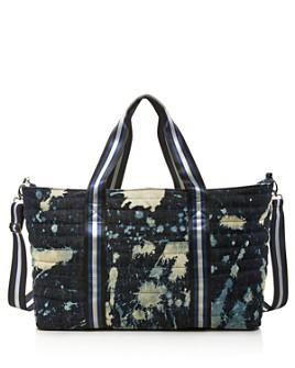 Think Royln - Denim Big Mama Wingman Extra Large Weekender Bag