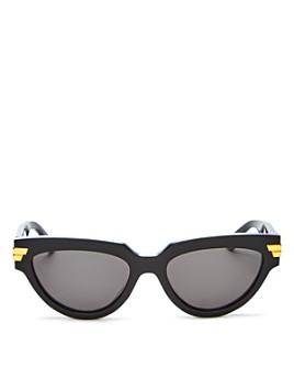 Bottega Veneta - Women's Oval Sunglasses, 55mm