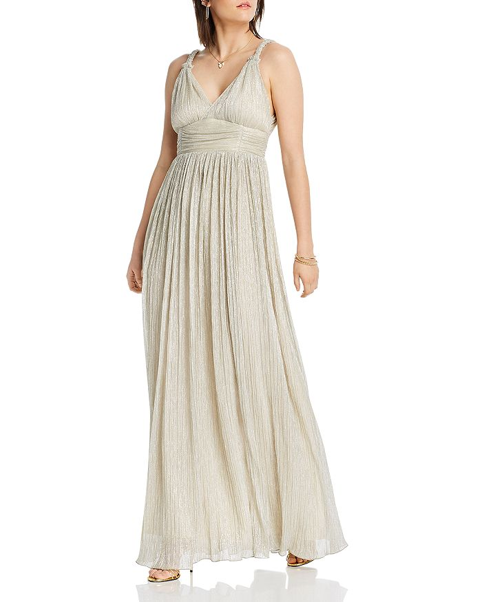 Lini Katherine Textured Maxi Dress - 100% Exclusive In Silver