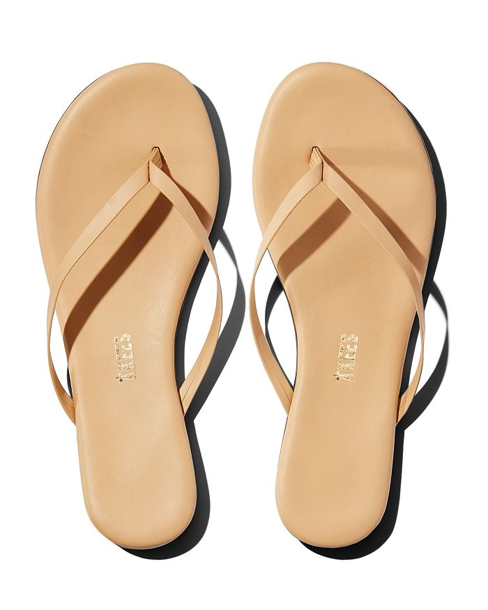 TKEES - Women's Foundations Leather Flip-Flops