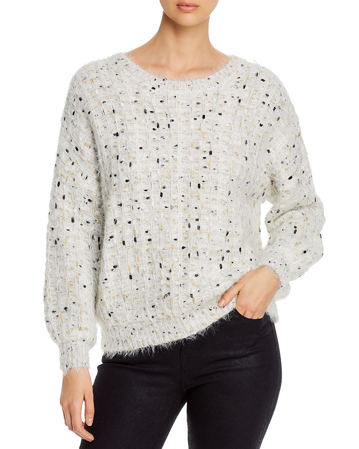 cupcakes and cashmere - Nisha Fuzzy Speckled Sweater