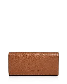 Longchamp - Le Foulonne Checkbook Wallet