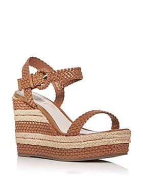SCHUTZ - Women's Nani Espadrille Platform Wedge Sandals