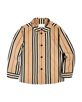 Burberry - Boys' Fredrick Icon Shirt - Little Kid, Big Kid