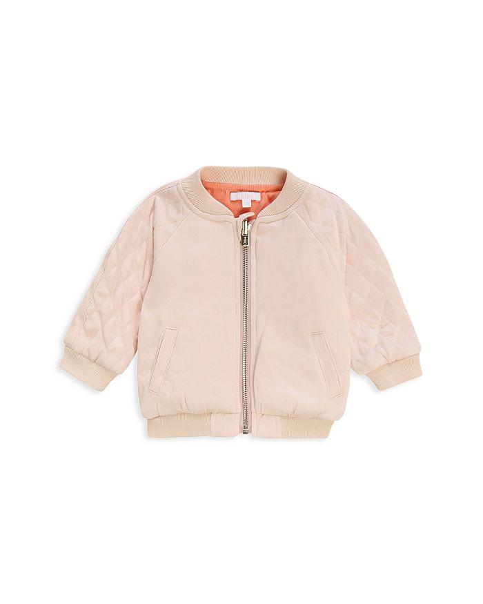 ChloÉ Girls' Reversible Jacket - Baby In Pink