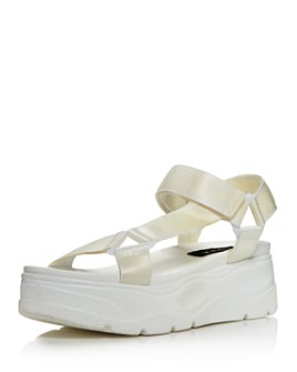 AQUA - Women's Sun Strappy Wedge Sandals - 100% Exclusive