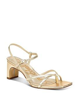 Sam Edelman - Women's Himena Block-Heel Strappy Sandals - 100% Exclusive