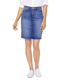 NYDJ - Five-Pocket Denim Skirt in Alton