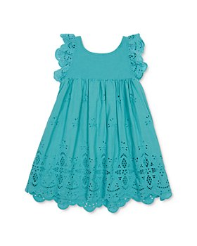 Peek Kids - Girls' Michele Cotton Eyelet Dress - Little Kid, Big Kid