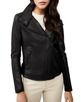 Mackage - Sandy Leather Moto Jacket
