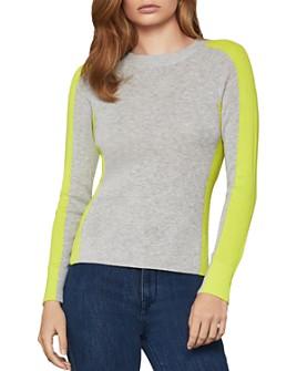 BCBGMAXAZRIA - Paneled Sweater