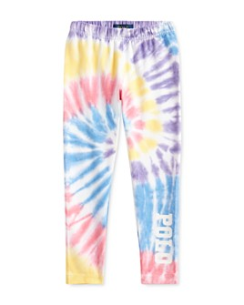 Ralph Lauren - Girls' Tie-Dyed Leggings - Little Kid