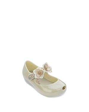 Mini Melissa Girls\\\' Ultra27 Mary Jane Flats - Walker, Toddler
