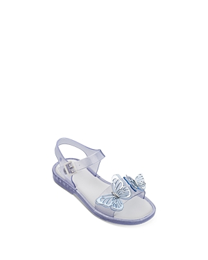 Mini Melissa Girls\\\' Mel Mar Butterfly Sandals - Toddler, Little Kid, Big Kid