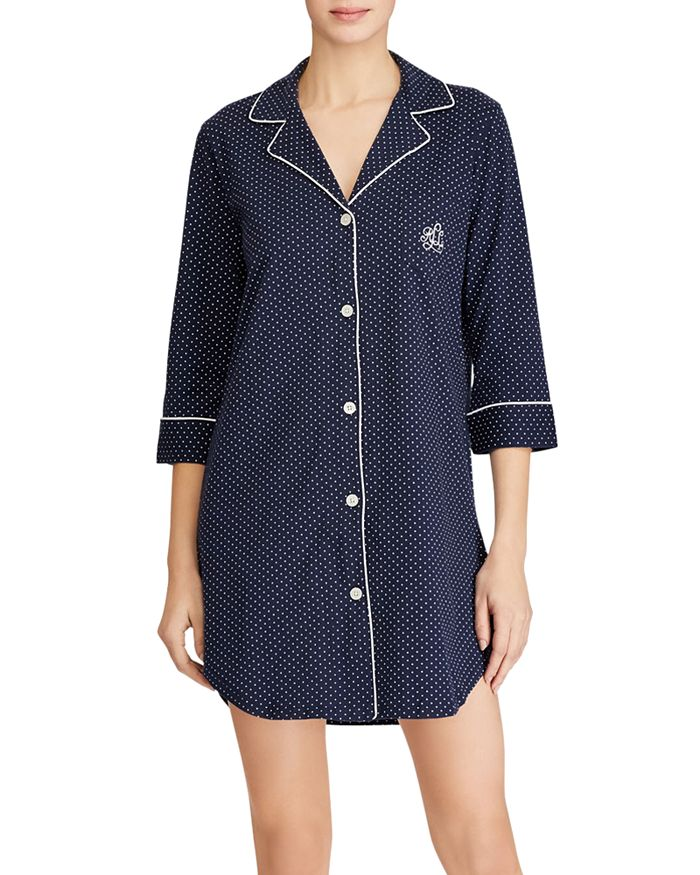 Ralph Lauren - Bingham Knits Cotton Sleepshirt