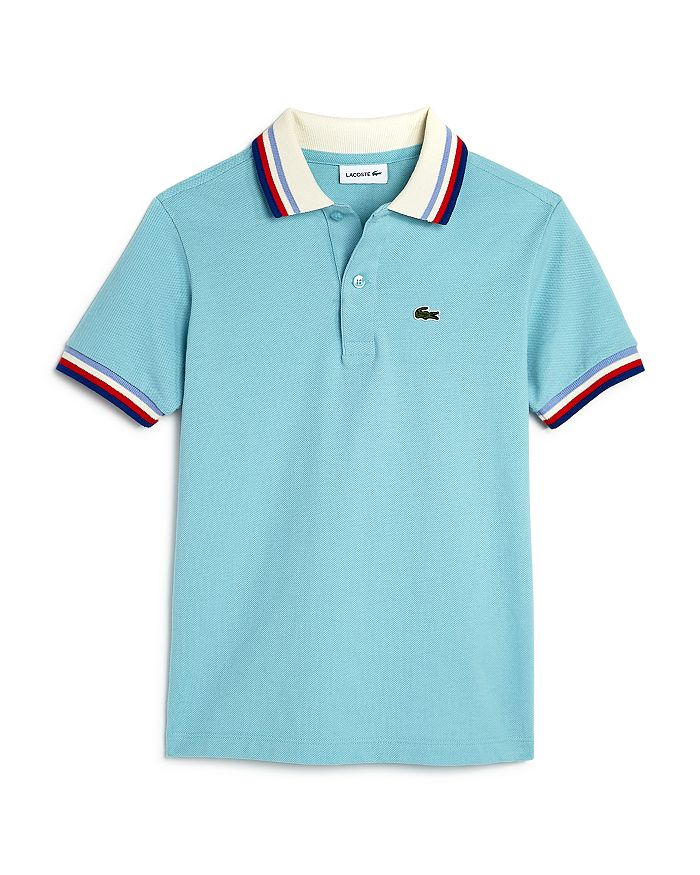 Lacoste - Boys' Striped-Trim Polo Shirt - Little Kid, Big Kid