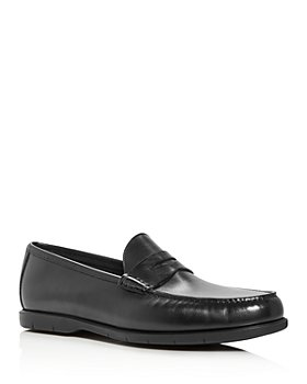 To Boot New York - Men's Tribeca Leather Moc-Toe Penny Loafers