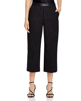 DKNY - Cropped Wide-Leg Pants