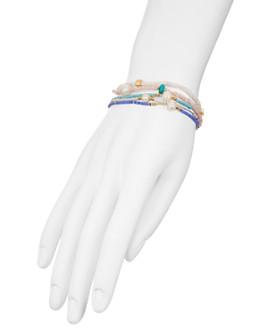 AQUA - Multicolored Beaded Bracelets, Set of 5 - 100% Exclusive