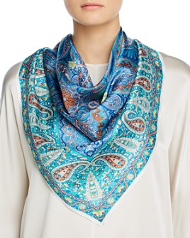 Echo - Classic Paisley Square Scarf - 100% Exclusive
