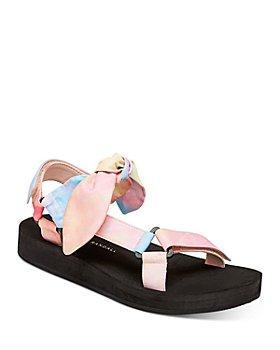 Loeffler Randall - Women's Maisie Strappy Wedge Sandals