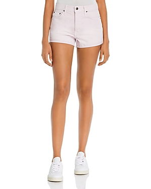 Pistola Kylee Relaxed Denim Shorts in Light Pink
